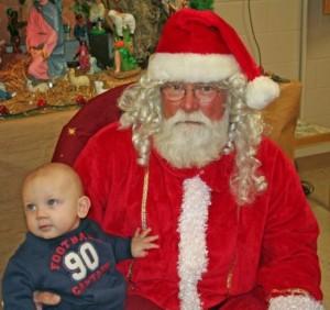 logan and santa